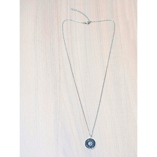 NECKLACE WITH CRYSTAL  `EYE`