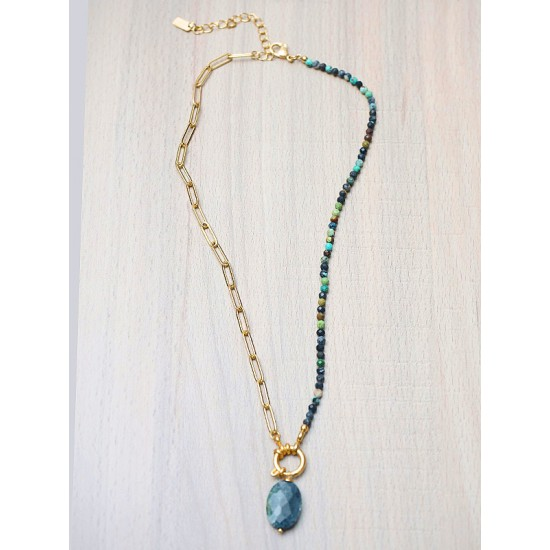 NECKLACE WITH STONE
