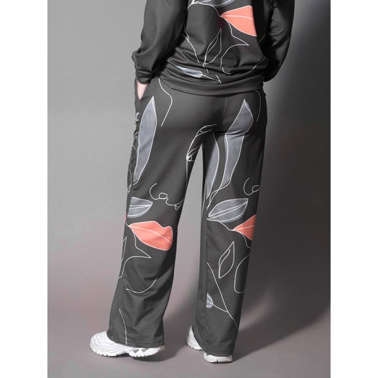 TROUSERS WITH ABSTRACT DESIGN