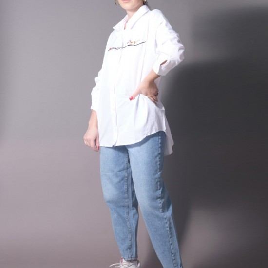 SHIRT WITH EMBROIDERY