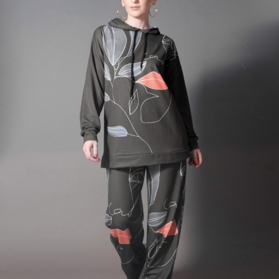 TOP WITH ABSTRACT DESIGN