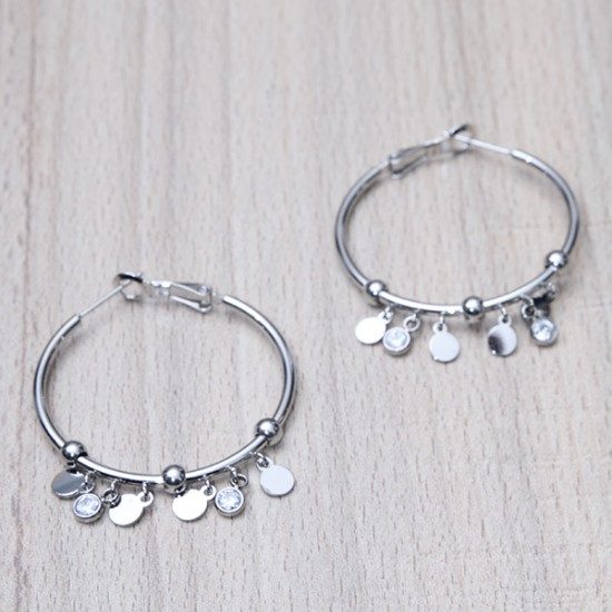 STEEL EARRINGS