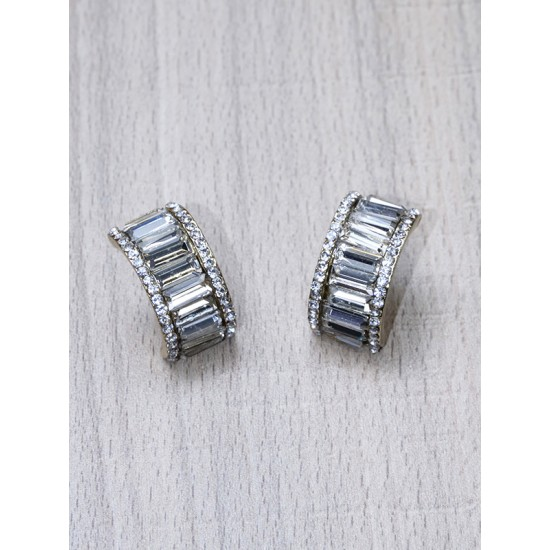 EARRINGS WITH STRASS