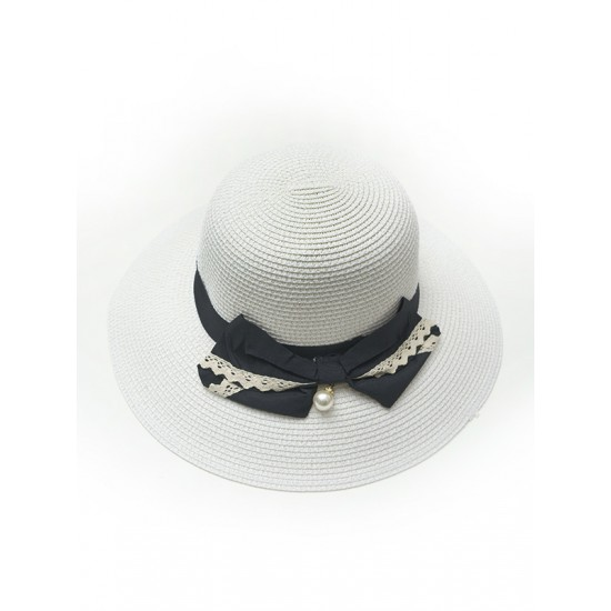 HAT WITH DECORATIVE TAPE