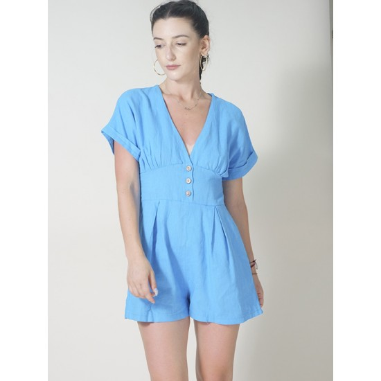 JUMPSUIT WITH SHORTS