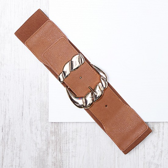 BELT WITH LARGE BUCKLE