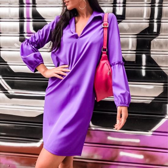 SHORT PLAIN COLOUR DRESS